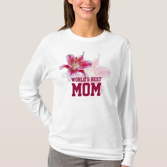 World's Best Mom Stargazer Silhouette T-shirt