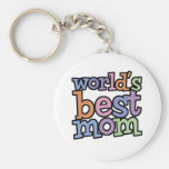 Worlds Best Mom T-Shirts & Gifts Key Chains