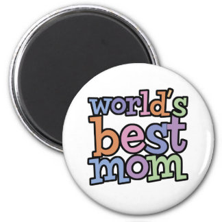 Worlds Best Mom T-Shirts & Gifts Fridge Magnet