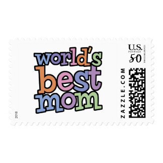 Worlds Best Mom T-Shirts & Gifts Postage