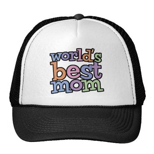 Worlds Best Mom T-Shirts & Gifts Trucker Hat