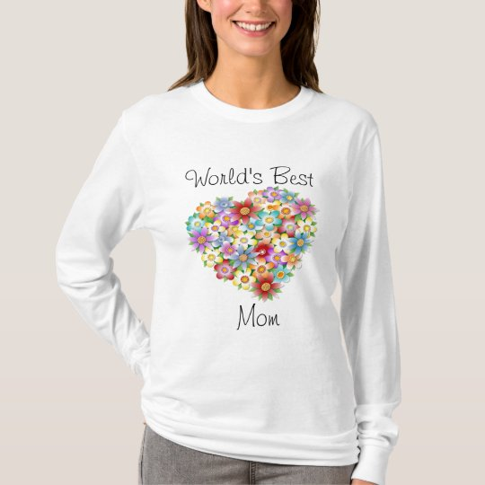 World's Best Mom Tee Shirt for Mother's Day