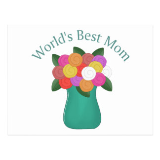 World's Best Mom Tees and Gifts - Mother's Day! Postcard