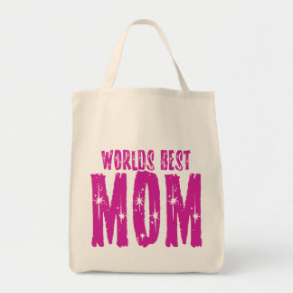 Worlds best MOM Tote Bag