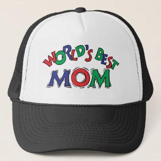 World's Best Mom Trucker Hat