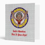 World's Best Mom Vinyl Binder