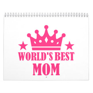 World's Best Mom Wall Calendar