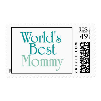 Worlds Best Mommy..1 Stamps