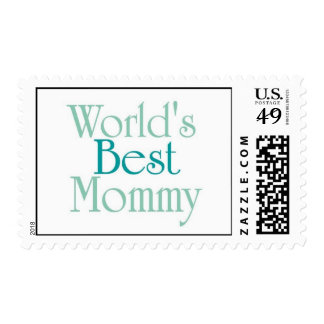 Worlds Best Mommy..2 Stamps
