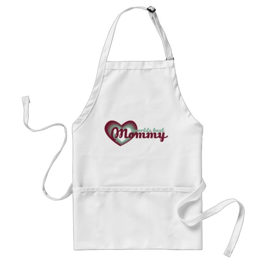Worlds Best Mommy Adult Apron