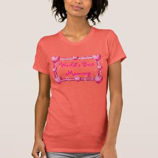 """""""World's Best Mommy"""" Heart Frame T-Shirt"""
