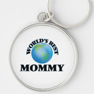 World's Best Mommy Key Chain