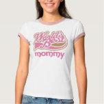 Worlds Best Mommy Logo Tshirt Gift