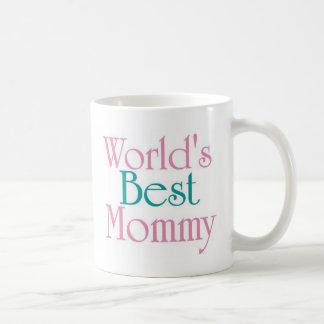 Worlds Best Mommy Classic White Coffee Mug