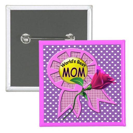 Worlds Best Mother Buttons