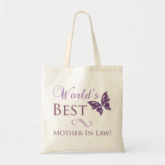 World's Best Mother-In-Law Tote Bags