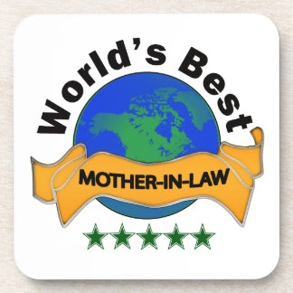 World's Best Mother-In-Law Coaster