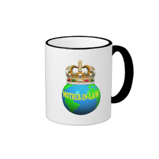 World's Best Mother-In-Law Mothers Day Gifts Ringer Coffee Mug