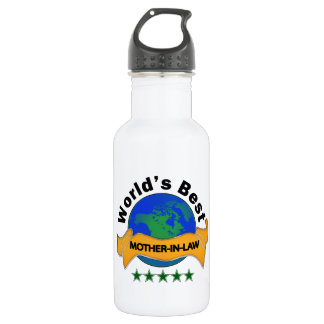 World's Best Mother-In-Law Stainless Steel Water Bottle