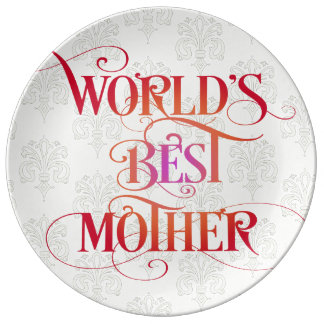 World's Best Mother Plate