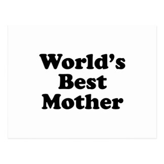 World's Best Mother Post Cards