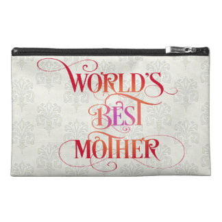 World's Best Mother Travel Accessory Bags