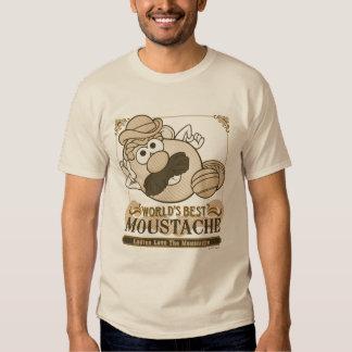 World's Best Moustache T-shirts