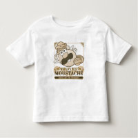 World's Best Moustache Toddler T-shirt