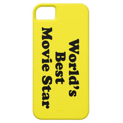 World's Best Movie Star iPhone 5 Covers
