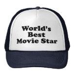 World's Best Movie Star Trucker Hat