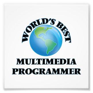 World's Best Multimedia Programmer Photo