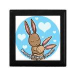 Worlds best Mum Bunny Jewelry Boxes