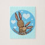 Worlds best Mum Bunny Puzzles