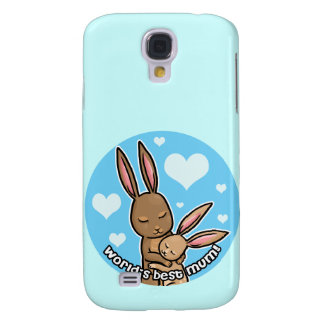 Worlds best Mum Bunny Samsung S4 Case