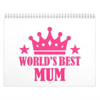 World's Best Mum Calendar
