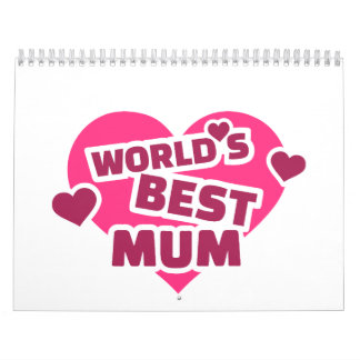 World's best Mum Calendars