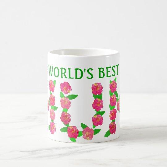 World's Best Mum Coffee Mug