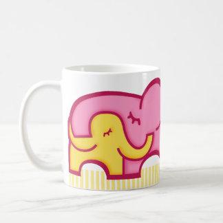 World's Best Mum elephants hug mug