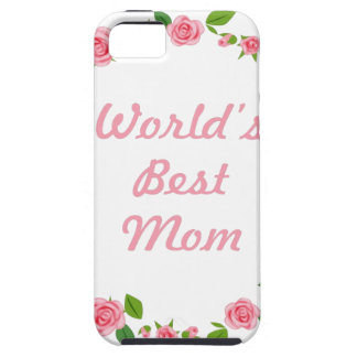 Worlds Best mum mothers day gift iPhone SE/5/5s Case