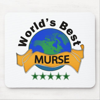 World's Best Murse Mouse Pad