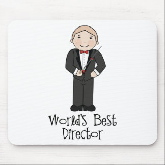 Worlds Best Music Director Mouse Pad