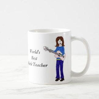 World's Best Music Teacher Coffee Mug