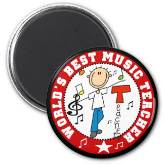 World's Best Music Teacher Magnet Refrigerator Magnet