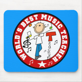 World's Best Music Teacher Mouse Pad