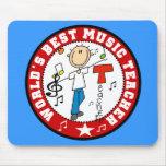 World's Best Music Teacher Mousepad