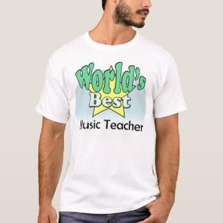 World's best Music Teacher T-Shirt