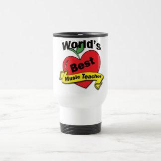 World's Best Music Teacher Travel Mug