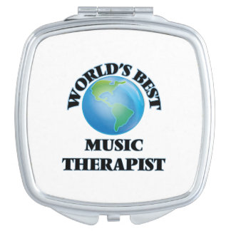 World's Best Music Therapist Mirror For Makeup