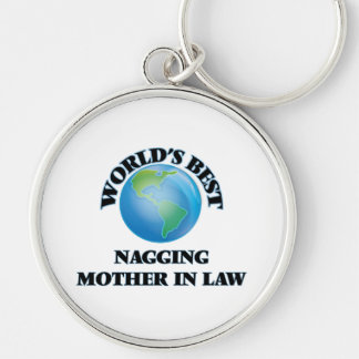 World's Best Nagging Mother-in-Law Keychain