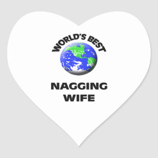 World's Best Nagging Wife Stickers